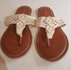 Mad love crocheted sandals b19